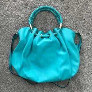 Other - Turquoise Hobo Purse w/ Shoulder Strap
